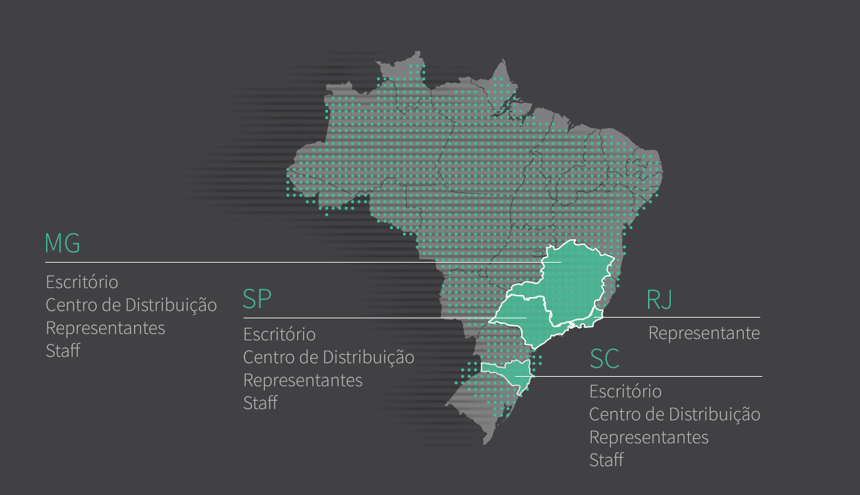 Mapa Representantes